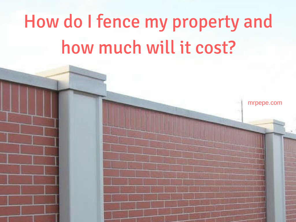 Guide How Do I Fence My Property And How Much Will It Cost Money Making It Managing It And Giving It Away In Nigeria,Small Home Interior Design Indian Style